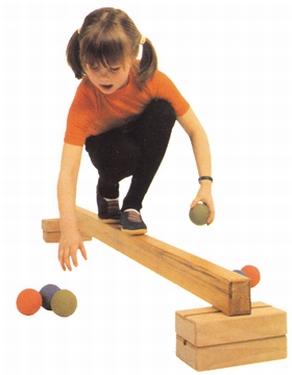 Evenwichtsbalk