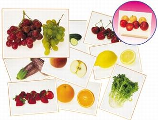 Fotoset groenten & fruit