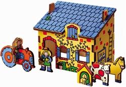 3-D puzzel Boerderij