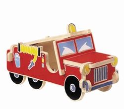 3-D puzzel Brandweerauto
