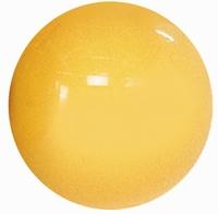 Fysiobal 75 cm, kleur geel