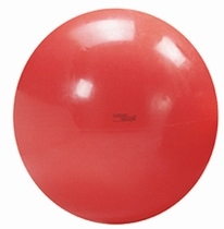 Fysiobal 120 cm, kleur rood