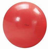 Gymnastiek/fysiobal 55 cm, kleur rood