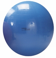 Gymnastiek/fysiobal 65 cm, kleur blauw