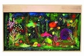 Blacklight Aquarium