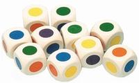 Kleuren dobbelstenen