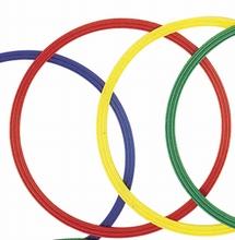 Platte gymnastiekhoepels 60 cm