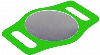 Handspiegel, groen