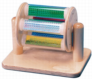 Kleuren staaftrommel op standaard