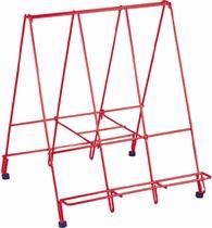 Standaard voor vertelplaten (afm. 42x51x46 cm).