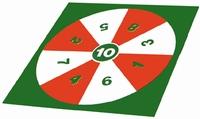 Vloer-dartspel