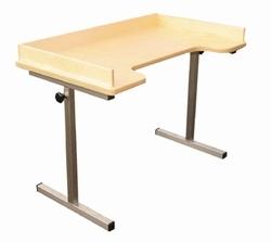 Verstelbare éénspersoons tafel