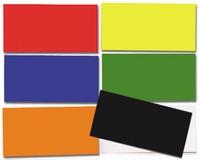 Kleurcodestroken 20 x 5 cm