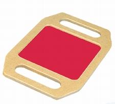 Kleurenframe rood