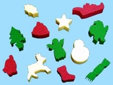 Verfsponsjes, Kerstmis